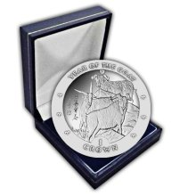 Isle of Man 2003 Chinese New Year - Year of the Goat Unc. CuNi Coin in a box