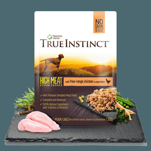 True Instinct Free Range Chicken Fillets for Small Breed Dogs, 8 x 150g