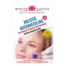 White Lotus Holistic Micro Needling Book Natural Skin Needling Book