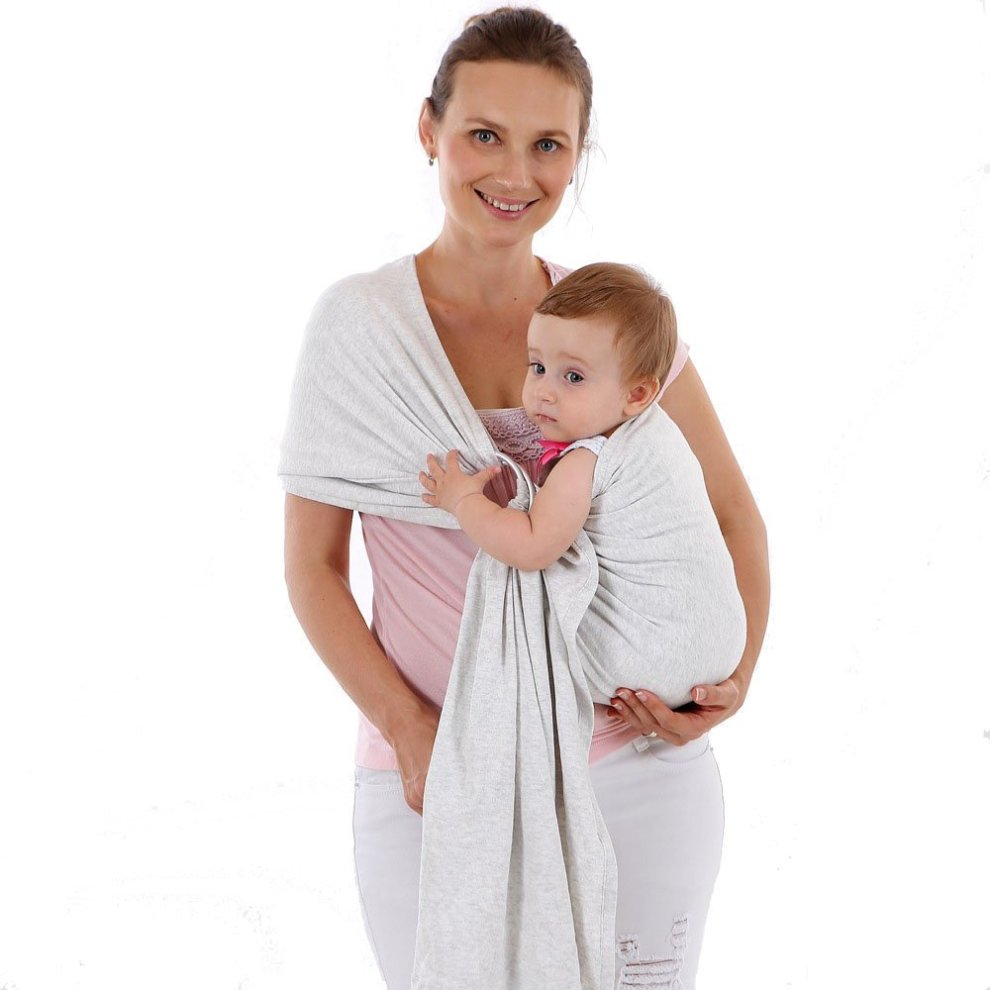 b918bb1a440 ... ThreeH Baby Ring Sling Wrap Carrier Comfortable Breastfeeding Cover for  Infants BC14
