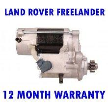 Land rover freelander 2.0 4x4 1998 - 2006 starter motor 12 month warranty