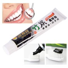 Bamboo Charcoal Teeth Whitening Cleansing Black Toothpaste Smoke Stains Tartar Remove Oral Care