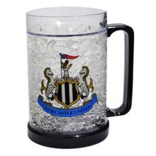 Newcastle United F.c. Plastic Freezer Tankard - Fc Mug Beer Ice Cold Drink -  freezer tankard fc newcastle united plastic mug beer ice cold drink