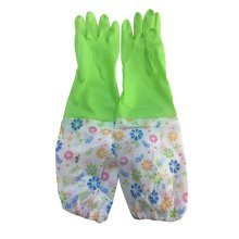 More Durable Clean Rubber Gloves To Wash Dishes Waterproof Gloves Green