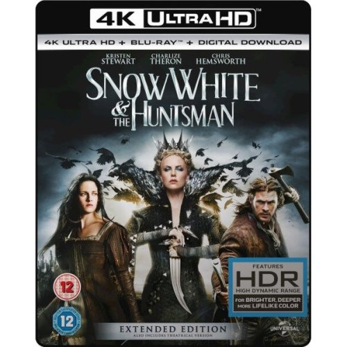 Snow White and the Huntsman (extended Edition) - 4k Ultra Hd (includes Ultraviolet Copy)