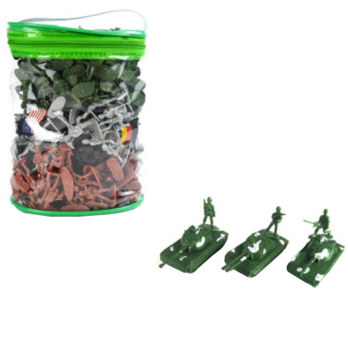 Toy Soldiers Army Men Action Figure Models Toy Gifts/Toy Trucks/Toy Tanks-300PCS
