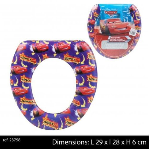 Cars Kids Soft Toilet Seat