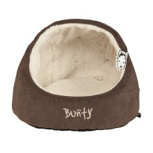 Bunty Cat Kitten Puppy Dog Pet House Cave Nest Bed Basket Soft Fleece Cushion