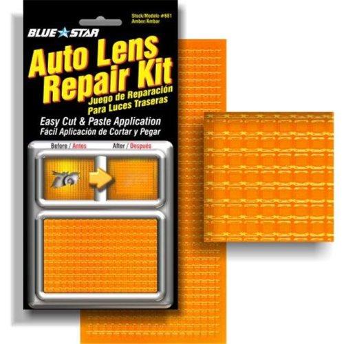 Blue Star 661 Auto Lens Repair Kit, Amber Textured