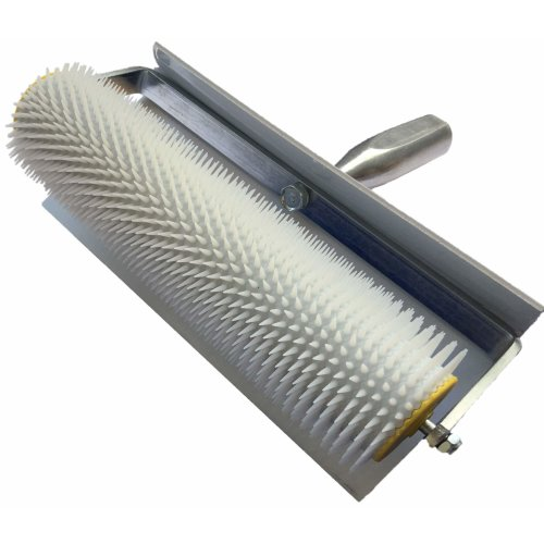 SPIKED AERATION ROLLER 25 cm vent roller spiked roller with splash guard – spikes-length: 11 mm Professional quality tool