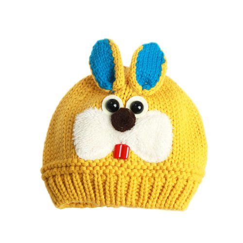 Lovely Rabbit Winter Baby Hat Knitted Baby Hat