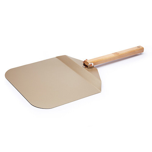 """Paul Hollywood by KitchenCraft Non-Stick Metal Pizza Peel with Folding Handle, 69.5 x 30 cm (27.5"""" x 12"""")"""