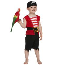 Kids Pirate Boy Fancy Dress Costume (Toddler)