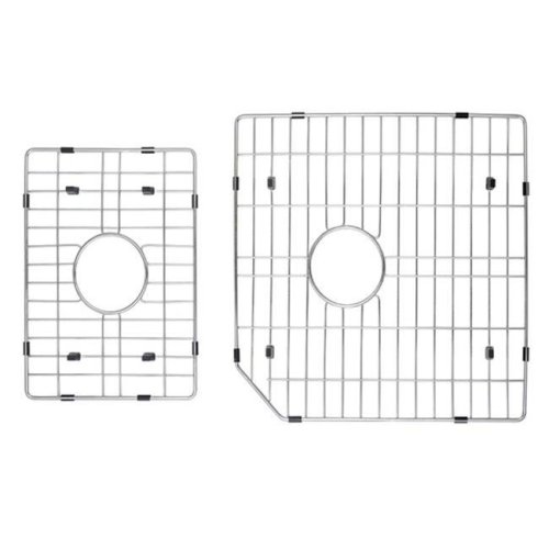 Kraus KBG-123-32-2 Stainless Steel Bottom Grid with Protective Anti-Scratch Bumpers for KHU123-32 Kitchen Sink Right Bowl