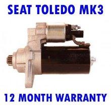 Seat toledo mk3 mk III 1.9 TDI 2004 2005 2006 2007 2008 2009 starter motor
