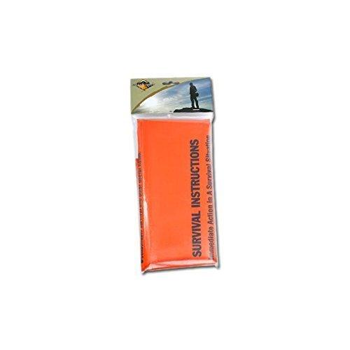 BCB Single Emergency Survival Bag - Orange