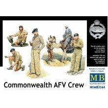 Mas3564 - Masterbox 1:35 - Commonwealth Afv Crew