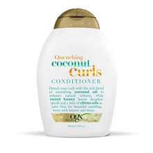 OGX Quenching Plus Coconut Curls Conditioner, 13 Ounce (Pack of 6)