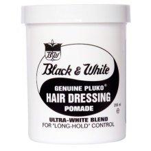 Black and White Hair Wax 200ml