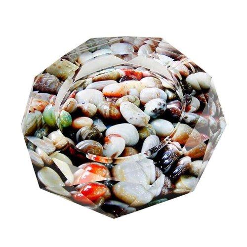 [Stone] Rhombus Shape Crystal Cigarette Ashtray Ash Tray Tabletop Decoration