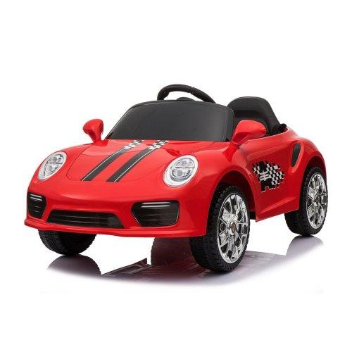 (Red) 12V Porsche 911 Turbo S Kids' Ride-On | Electric Ride-On Porsche
