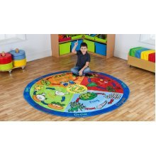 Childrens Back to Nature™ Life Cycles Carpet