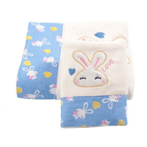 Strong Absorbent Rabbit Baby Bath Towels Sets(Multicolor)