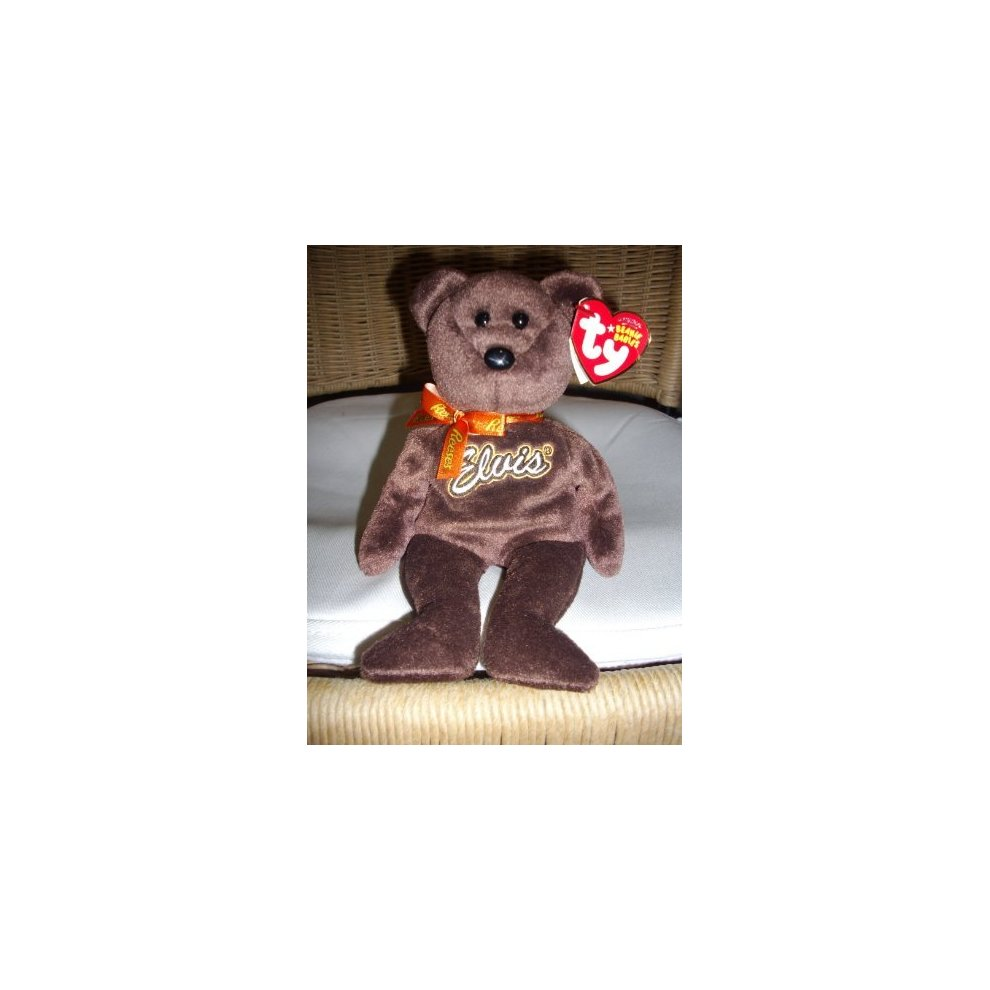 acb1f7f4179 TY Beanie Baby - COCO PRESLEY the Bear (Brown Version - Walgreen s Exclusive)  ...