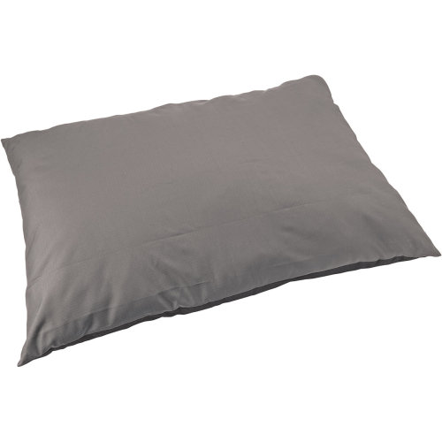 "Sleep Zone 45"" Water Resistant Pillow Dog Bed-Gray"