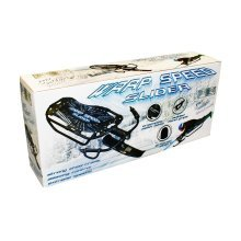 Warp Speed Slider - Snow Sledge Toboggan Bobsled Racer Steel Frame Control & - Warp Speed Snow Sledge Slider Toboggan Bobsled Racer Steel Frame