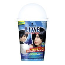 Set of 3 Schwarzkopf Live Color XXL Shake It Up Colour Foam 110 blueberry crush