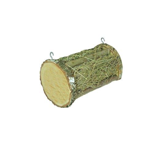Elmato ELMI 10465Hay Roll in Birch with Hooks