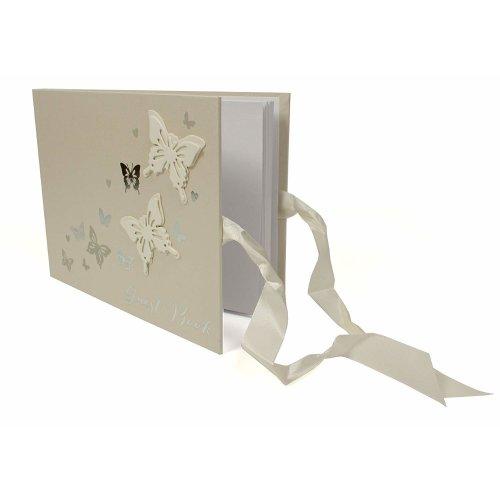 Juliana Wings of Love Butterfly Paperwrap Guest Book
