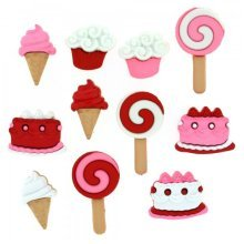 Sweet Tooth, Valentines, Dress It Up Buttons, Scrapbooking, craft