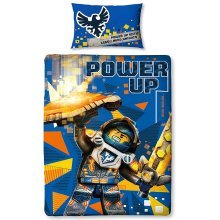 Lego Nexo Knights Power Single Duvet Cover Set Polycotton Panel Print