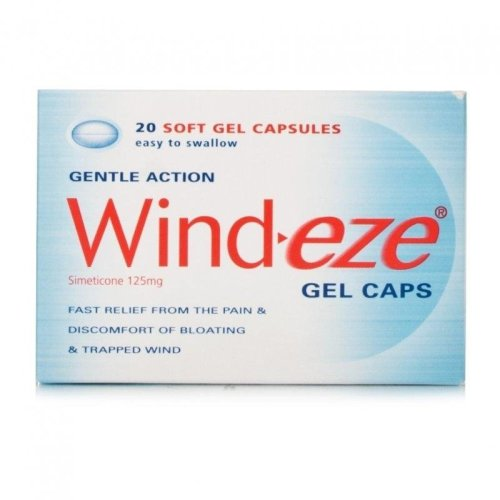 Wind-Eze 20 Soft Gel Capsules