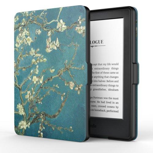 MoKo Case for Kindle E-reader (8th Gen 2016) - Almond Blossom