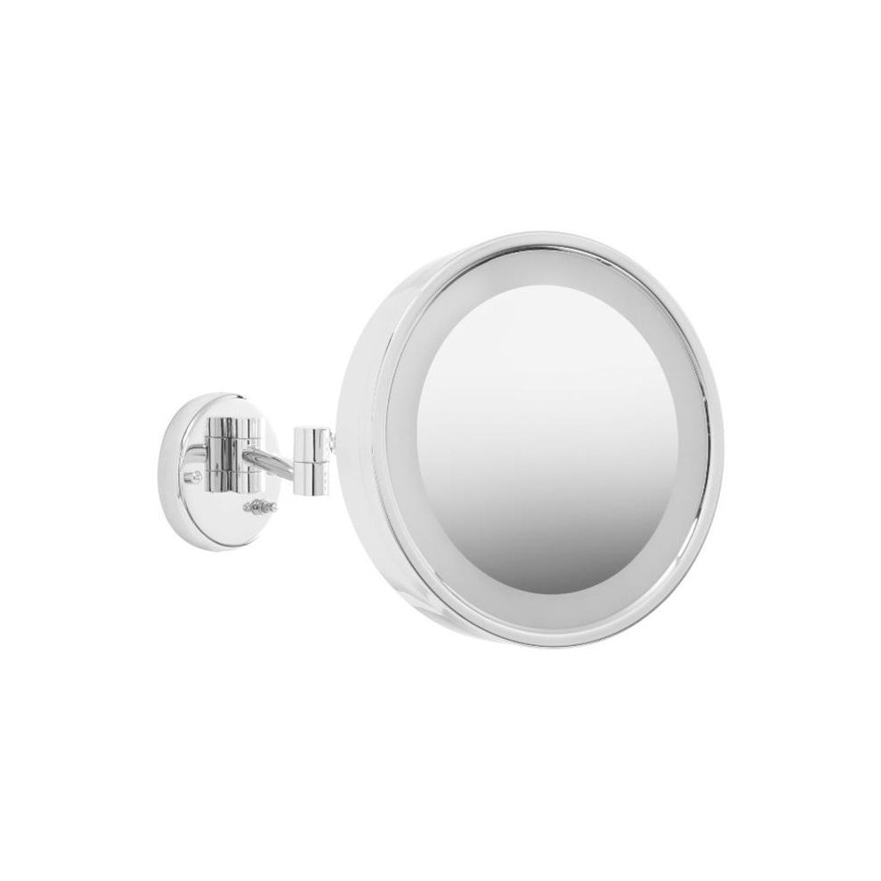 Jerdon 5x 1x Euro Lighted Makeup Mirror Mugeek Vidalondon