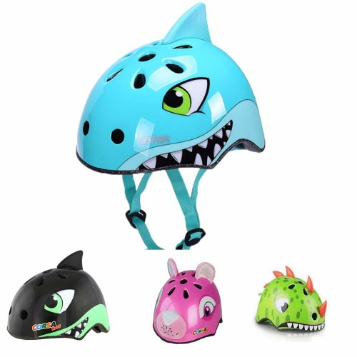 YGJT Cute Cartoon Kids' Safety Helmet for 2-5 Years Old