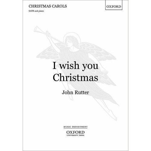 I wish you Christmas: Vocal score