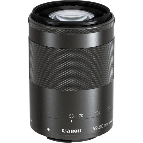 CANON EF-M 55-200mm F4.5-6.3 IS STM Black (No box)