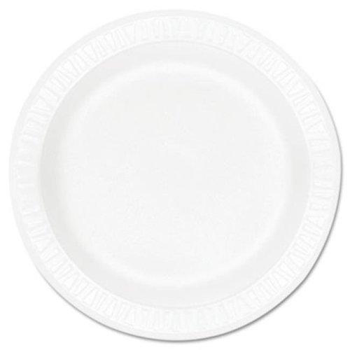 Dart DCC9PWCR Plate,Foam,Concord,9'',Wht