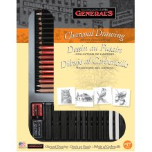 Charcoal Drawing Set-