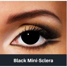 Mini Black Sclera Contact Lenses - Halloween Contact Lenses