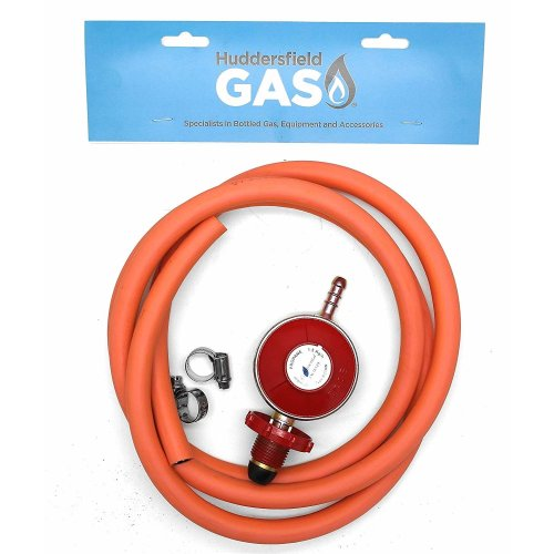 HG Hand Wheel Propane Regulator 2m Hose Kit Fits Red Calor & Flogas