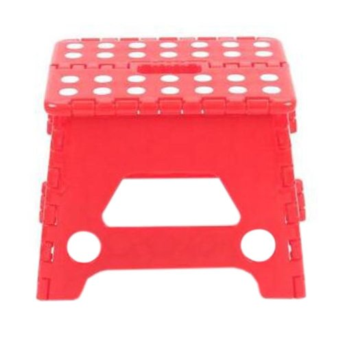 Creative Plastic Foldable Step Stool Portable Folding Stools Stepstool for Kids & Adults, No.8