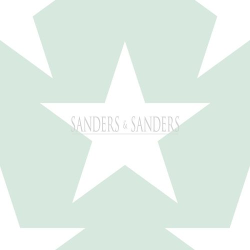 wallpaper stars mint green - 935258 - from Sanders & Sanders