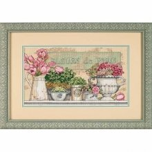 D35204 - Dimensions Counted X Stitch - Flowers of Paris