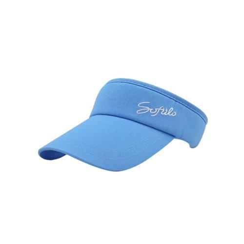 Boys's And Girls' Summer Fanshional Visor HatBaseball Tennis Sport Hat Blue