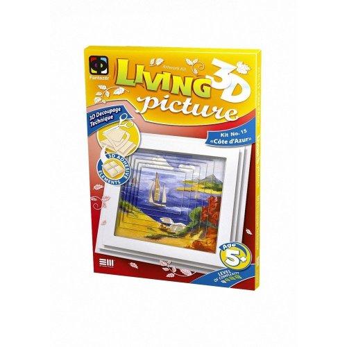 Elf956066 - Fantazer 3d Living Picture - Cote D'azur